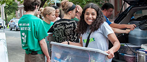 Russell Sage College Move In Day