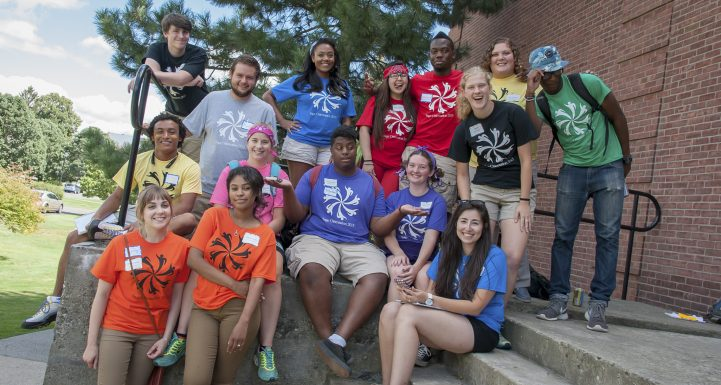 Orientation student Leaders, Sage College of Albany