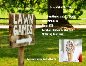9-4-16 student center-lawn games