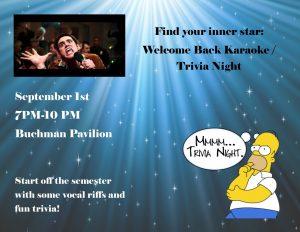Karaoke night 9-1-16