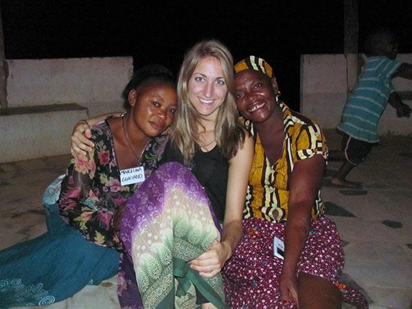 Meagan Brisson in Mozambique