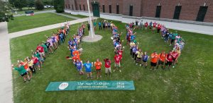 Students Spell 100 for Sage Centennial in Albany