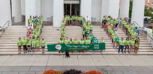 Students Spell 100 for Sage Centennial in Troy
