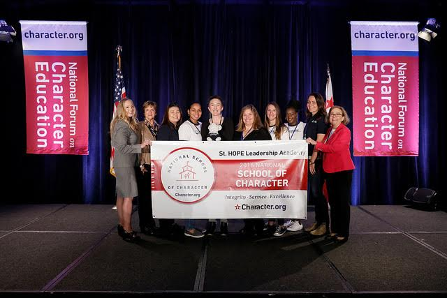 St. HOPE Leadership Academy honored in Washington, D.C.