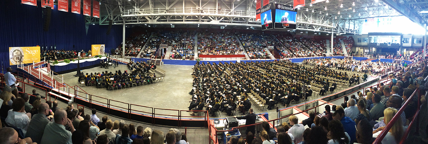 Commencement Panorama