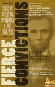 Sage Singers Underground Railroad 2015