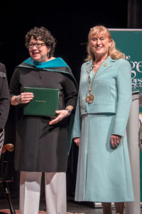 Sonia Sotomayor and Susan Scrimshaw