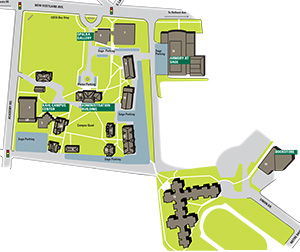 Sage College of Albany Campus Map