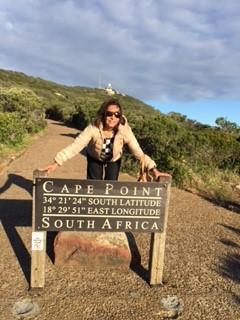 Manijeh Sabi in South Africa.
