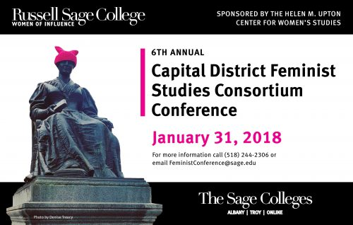 Capital District Feminist Studies Consortium Conference at Russell Sage College ad.