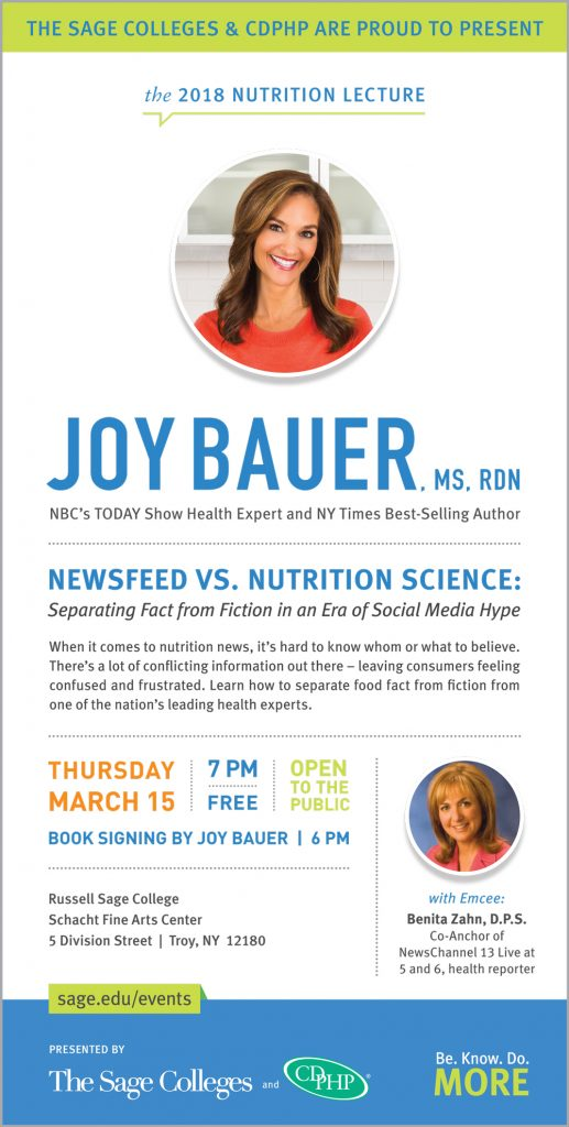 2018 Nutrition Lecture Print Ad
