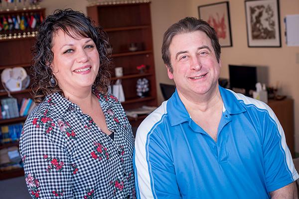Michelle Thivierge and Darren Gundrum
