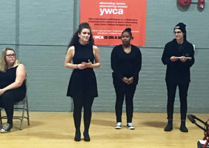 Russell Sage College students performing at YWCA of the Greater Capital Region