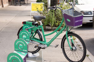 The CDPHP Cycle! bike share program is a fun and easy way to explore Sage's neighborhoods.