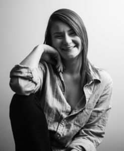 """Leah von Fricken, a Graphic + Media Design major in Sage College of Albany's Class of 2018, has been named a """"Student to Watch"""" by Graphic Design USA."""