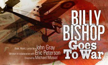Billy Bishop goes to war advertisement