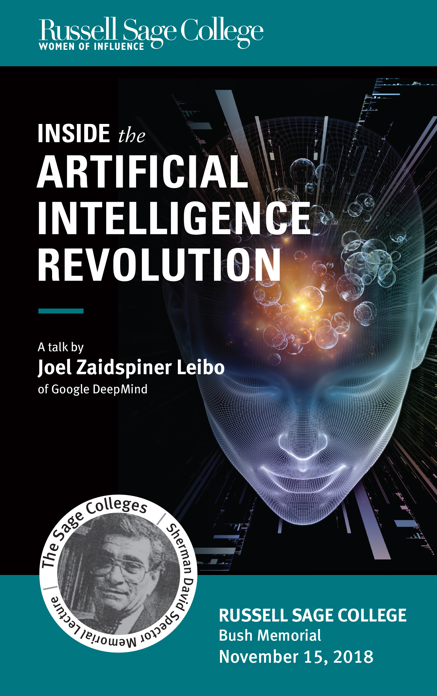 The Artificial Intelligence Revolution Program Cover