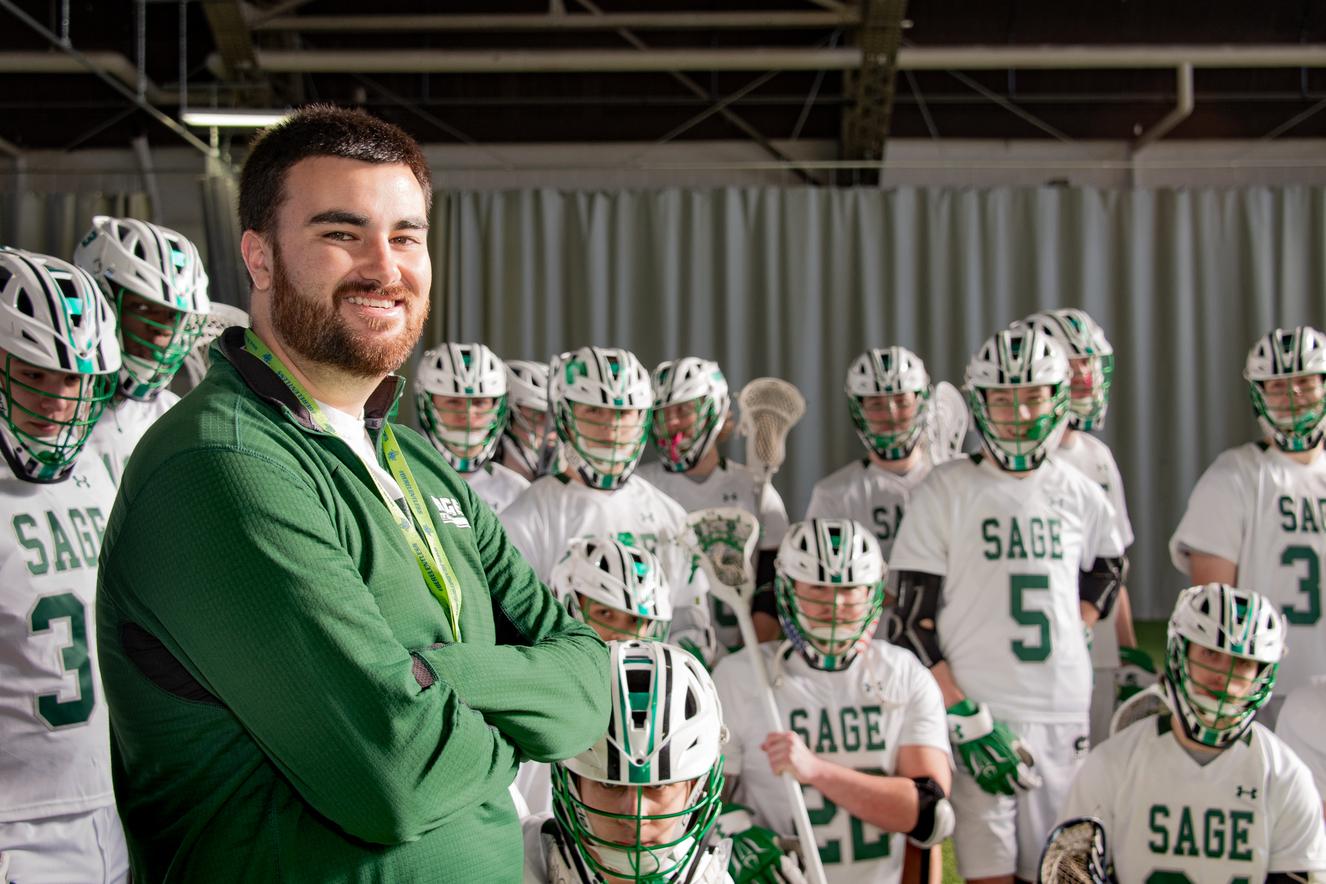 Men's Lacrosse Coach Ryan Lanigan