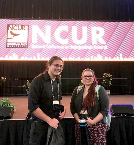 Students attending NCUR 2019 at Kennesaw State University (Kennesaw, Georgia)