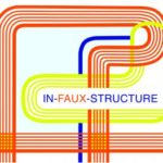 In-faux-structure logo
