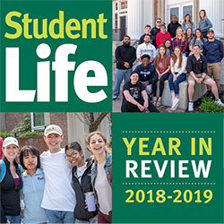 cover of Student Life Report 2018-2019