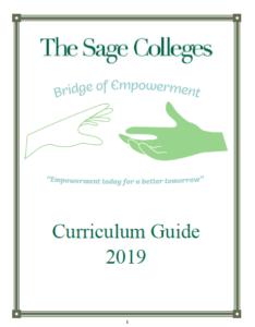 The Bridge of Empowerment curriculum Guide - cover