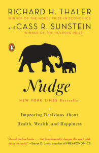 Cover of the book - Nudge