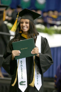 Ariannah Logan at commencement