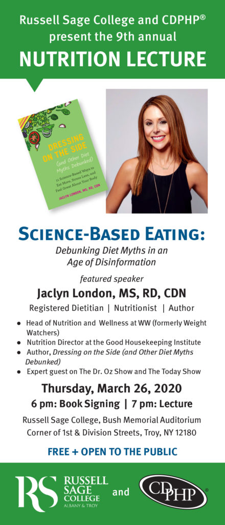 Ad for Science-Based Eating Lecture