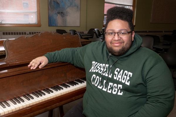 Tyler Cardona at piano