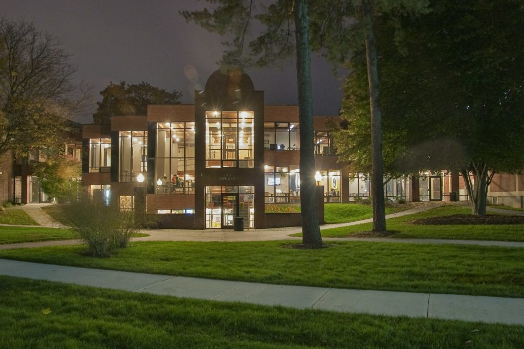 Kahl Campus Center (Night) - Albany
