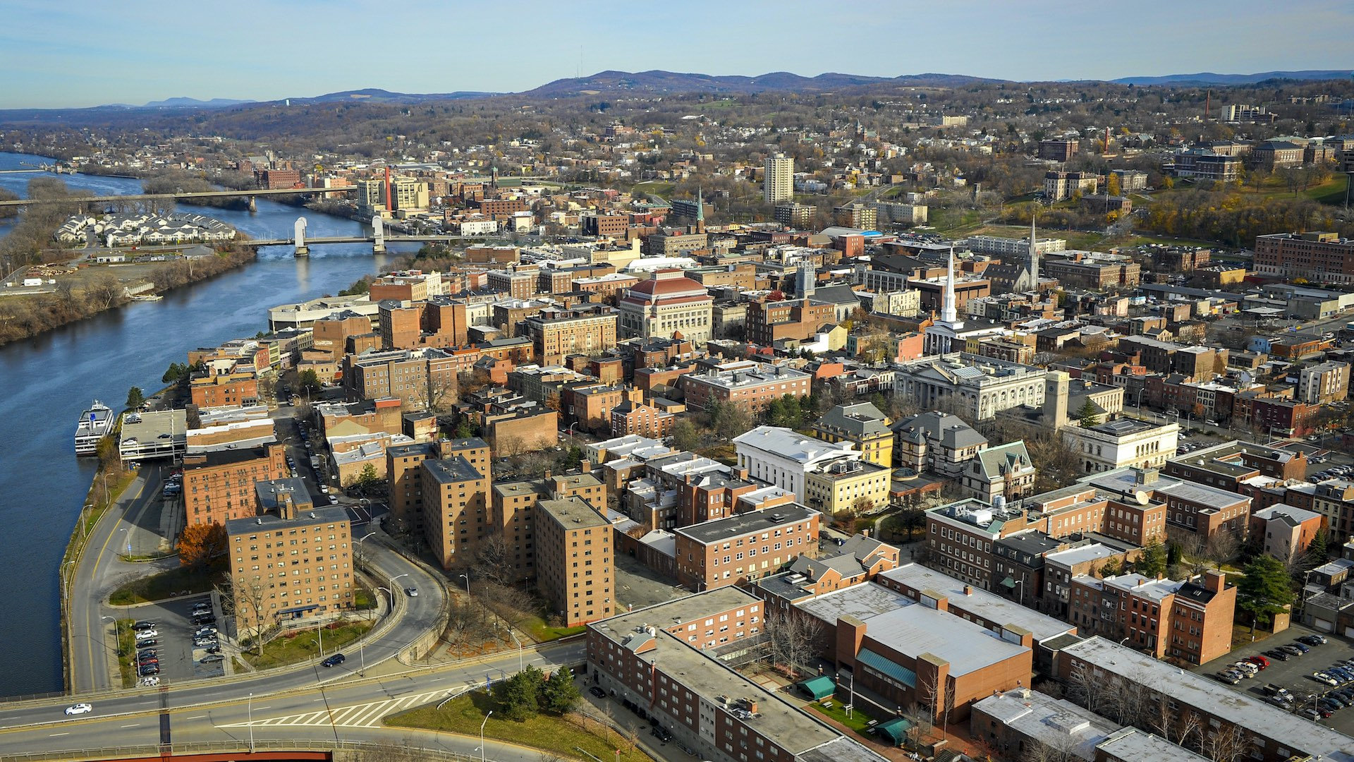 Aerial View - Troy