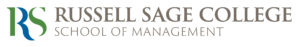 Russell Sage Logo - School of Management