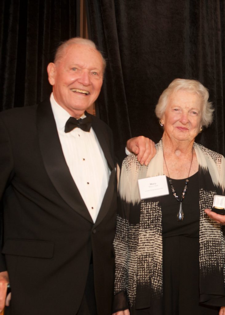 Former Russell Sage College President Bill Kahl and his wife Mary Kahl