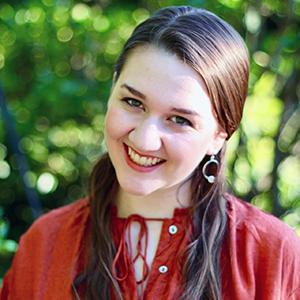 Honors student Megan Paluzzi
